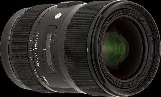 Sigma | 18-35mm F1.8 Camera Lens available for rent in Toronto with Quest Audio Visual