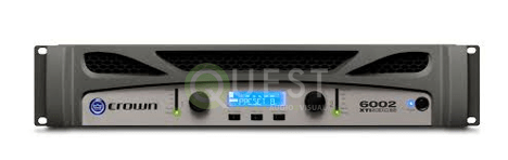 Crown XTi 6002 Amplifier available for rent in Toronto with Quest Audio Visual