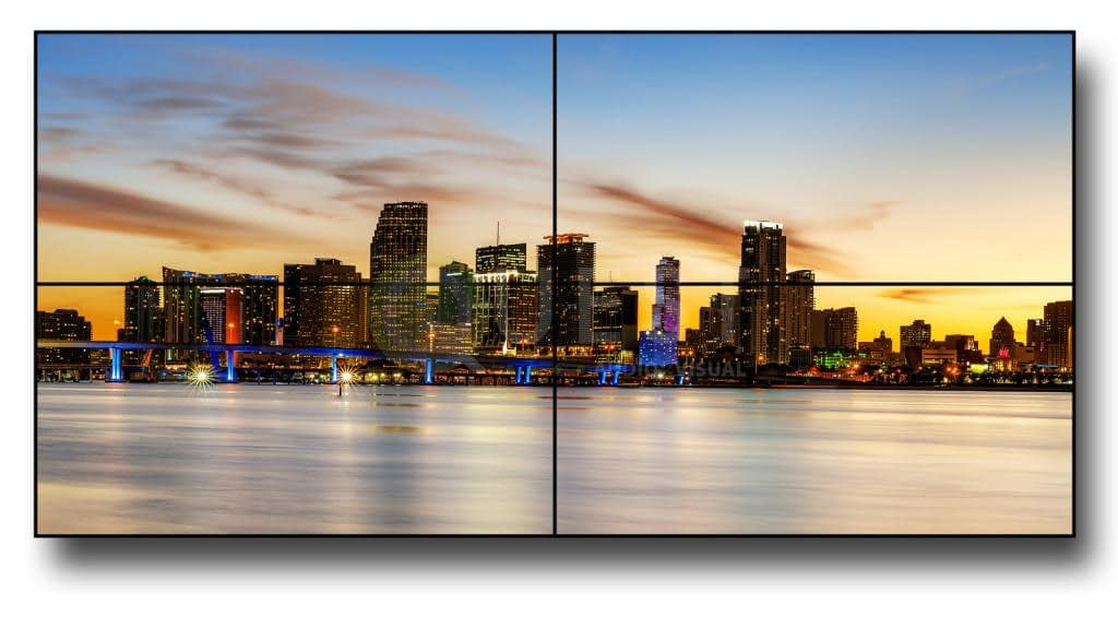 Video Walls available for rent in Toronto with Quest Audio Visual