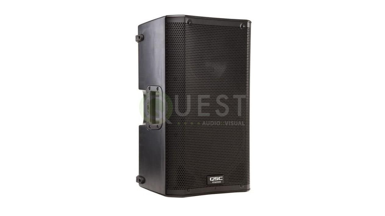 QSC K10.2 Active Speaker available for rent in Toronto with Quest Audio Visual