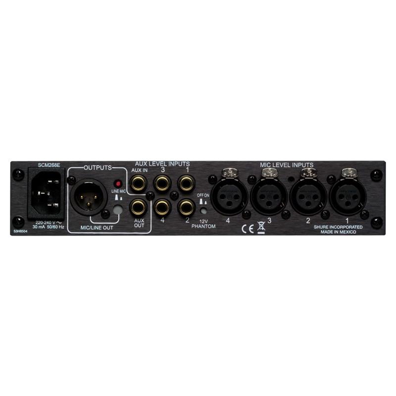 Shure SCM268 4Channel Mixer