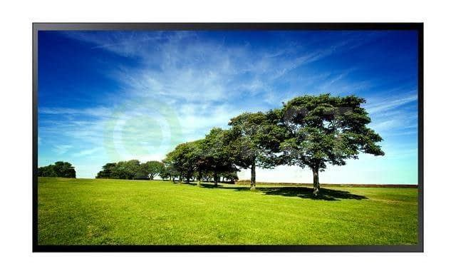 Samsung PM55F-BC Touch Screen Monitor available for rent in Toronto with Quest Audio Visual