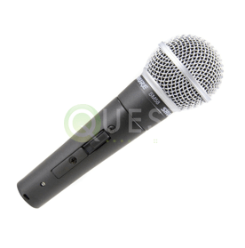 Shure SM58 Dynamic Microphone (With On/Off Switch) available for rent in Toronto with Quest Audio Visual