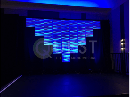 Moddim Panels available for rent in Toronto with Quest Audio Visual