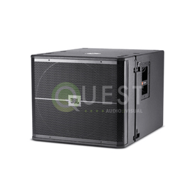 JBL VRX918S Subwoofer available for rent in Toronto with Quest Audio Visual