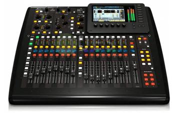 Behringer X32 Compact Digital Console available for rent in Toronto with Quest Audio Visual