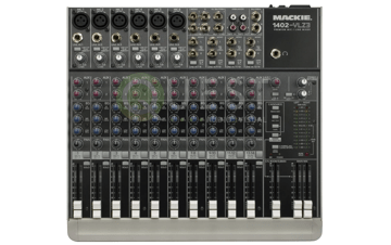 Mackie 1402 VLZ3 Mixer available for rent in Toronto with Quest Audio Visual