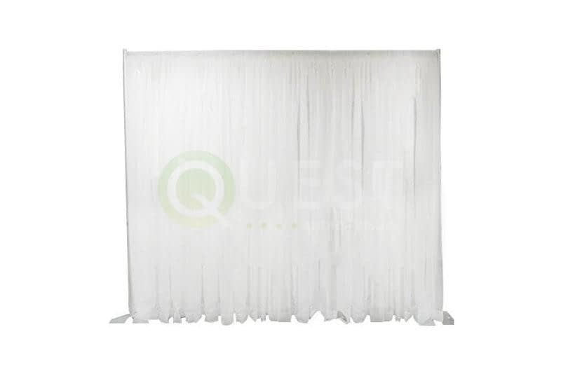 White Drape available for rent in Toronto with Quest Audio Visual