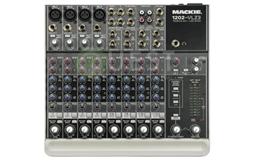 Mackie 1202 VLZ3 Mixer available for rent in Toronto with Quest Audio Visual