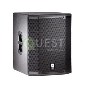 JBL PRX418S Subwoofer available for rent in Toronto with Quest Audio Visual