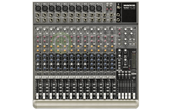 Mackie 1642 VLZ3 Mixer available for rent in Toronto with Quest Audio Visual