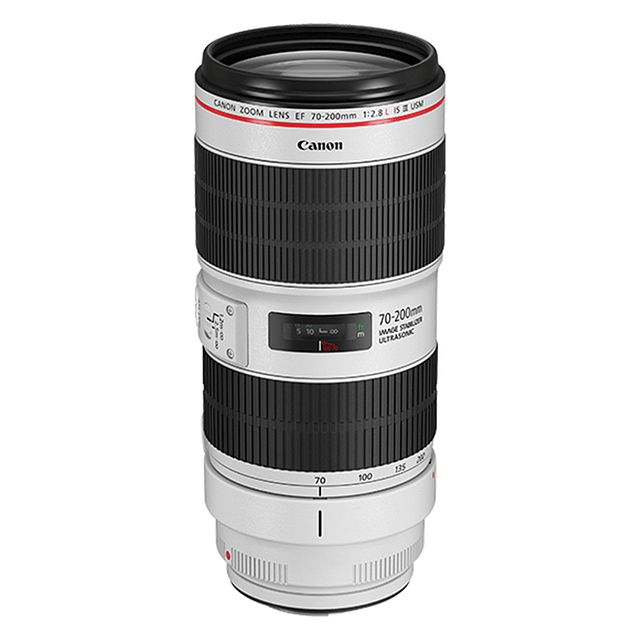 Canon | 70-200mm F2.8L Camera Lens available for rent in Toronto with Quest Audio Visual