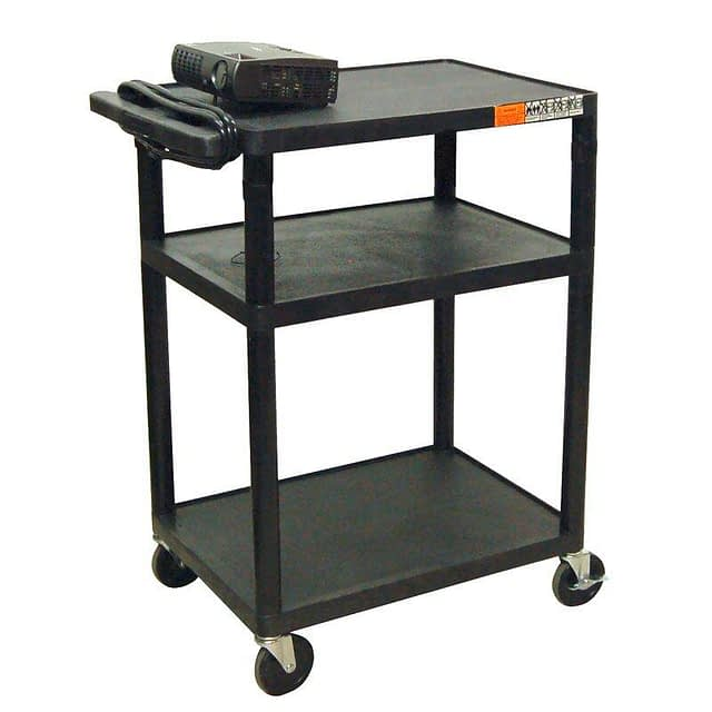 42″ AV Cart available for rent in Toronto with Quest Audio Visual